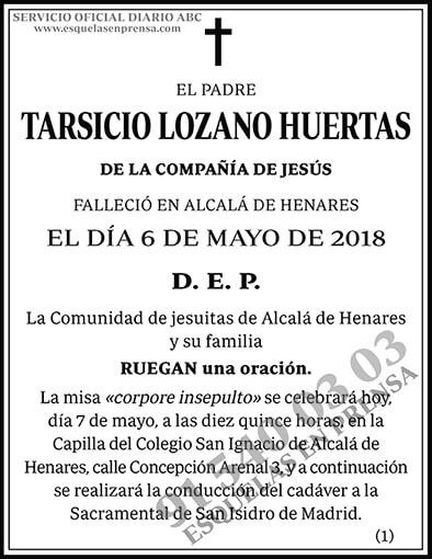 Tarsicio Lozano Huertas